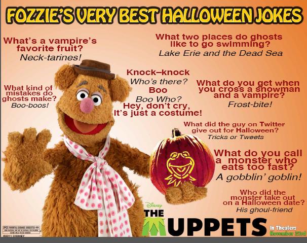 Cute Halloween Jokes For Kids From The Muppets Wakka Wakka Wakka Mom Always Finds Out