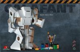 Do it yourself cardboard robot kit calafont calabot review calafant takes eco friendly cardboard crafts to the next level with their do it yourself cardboard robot kit from the creative toyshop solutioingenieria Image collections