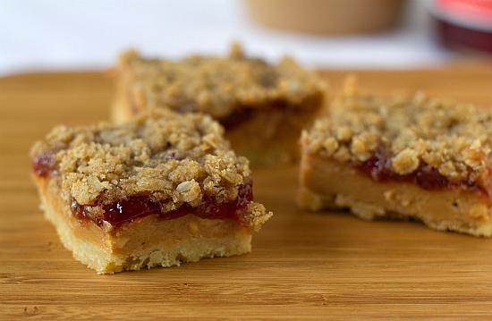 Peanut butter jelly bars easy recipes