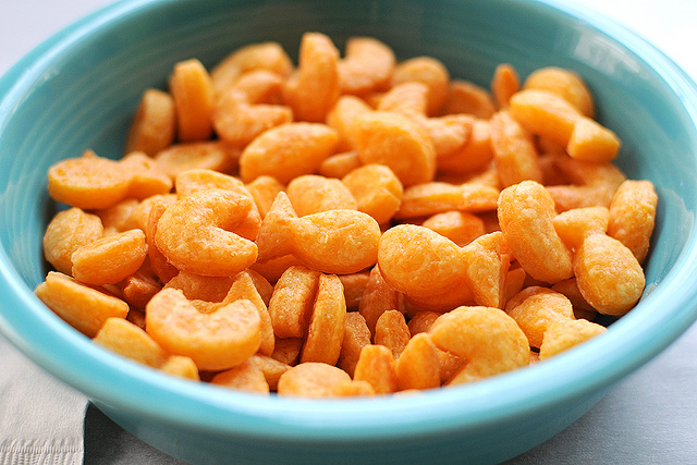 Make Homemade Goldfish Crackers