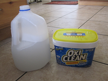 Oxiclean floor cleaning gurus floor for Floor clean out