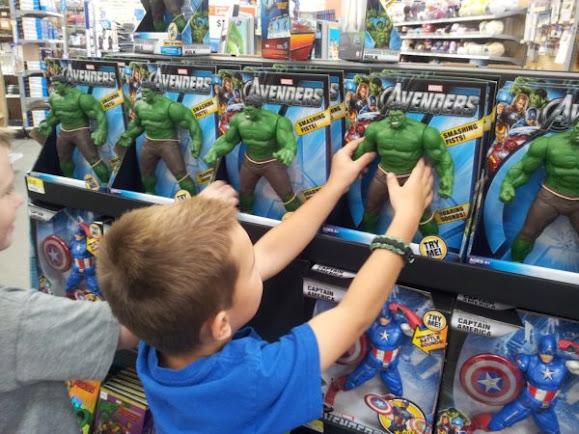 Walmart Toys For Boys Avengers : Our avengers app adventure family movie night