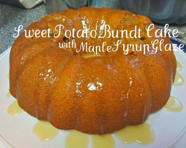 Sweet Potato Bundt Cake with Maple Syrup Glaze Recipe - Mom Always ...
