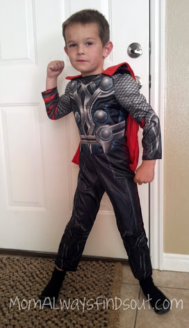 Meet Pint-Sized Thor ~ Freee Shipping on Halloween Costumes - Mom ...