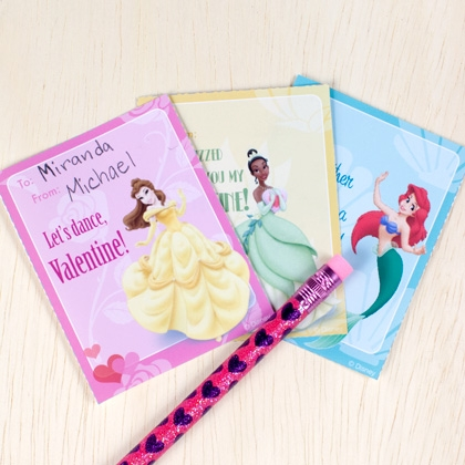Free Disney Printable Valentines Day Cards