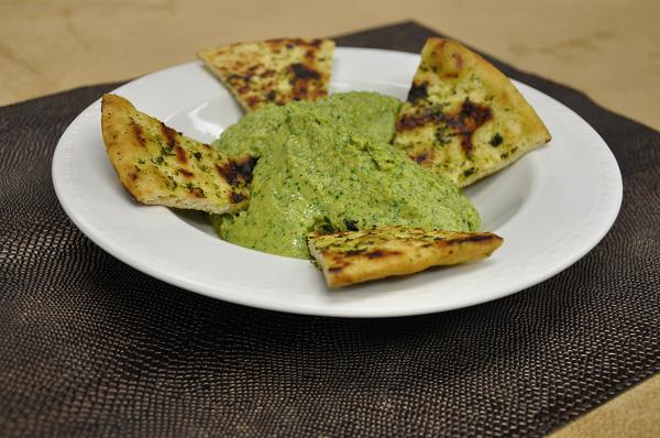 Artichoke Spinach Hummus Dip Recipe