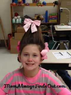 how to cindy lou hair front