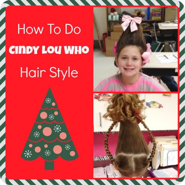 how to do cindy lou hair style