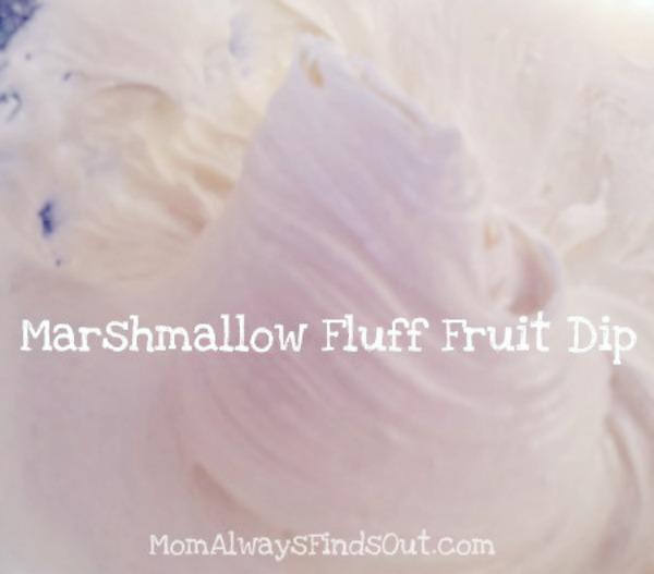 marshmallow fluff dip recipe cream cheese