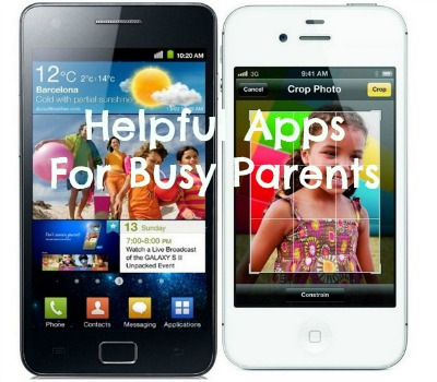 Helpful Apps For Busy Parents