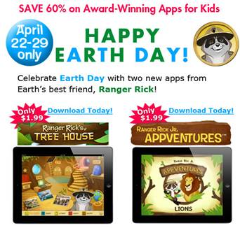 ranger rick kids apps sale