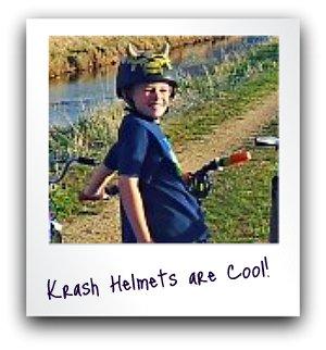 krash bike helmets boys