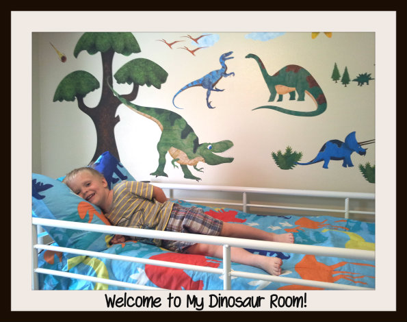 Dino Room Children's Bedroom Decor