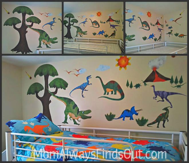 Dinosaur Room Wall Mural