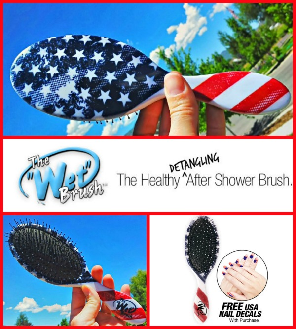 The Wet Brush Limited Edition #4thofJuly