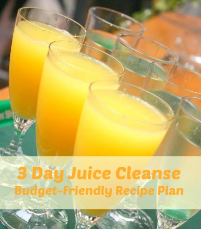 juice cleanse recipes plan