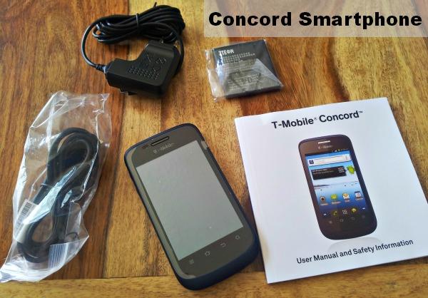 T-Mobile Concord Smartphone #WalmartFamilyMobile