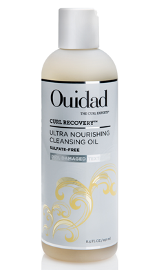 ouidad curl recovery cleansing oil shampoo