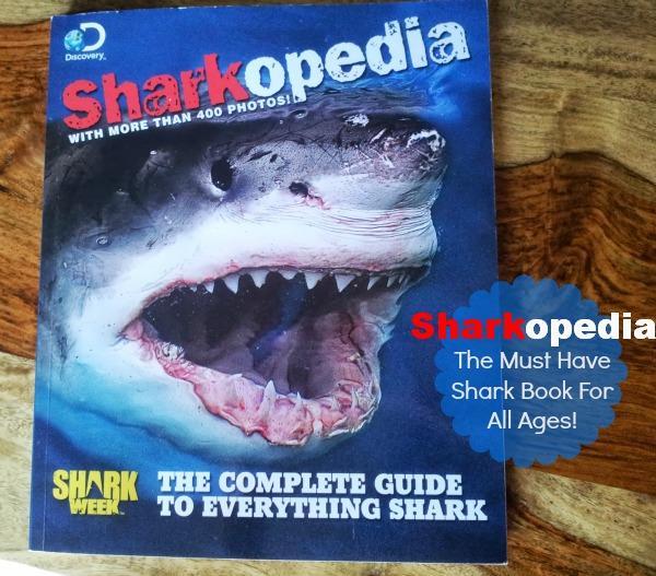 Sharkopedia Shark Book