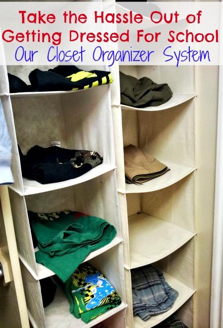 closet organizer kids