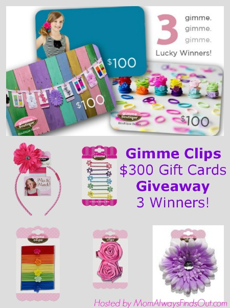 Gimme Clips Giveaway Event Button