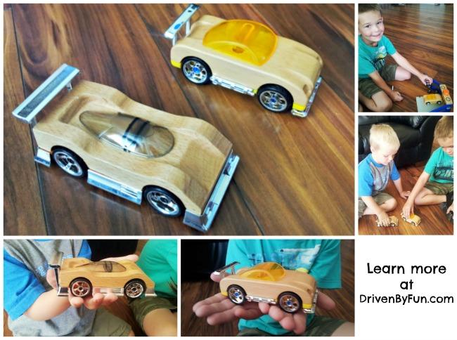 Motorworks Wooden Toy Vehicles