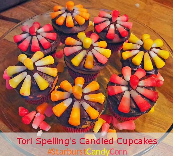 StarburstCandyCorn Cupcakes