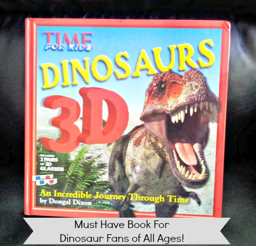 dinosaur 3d book