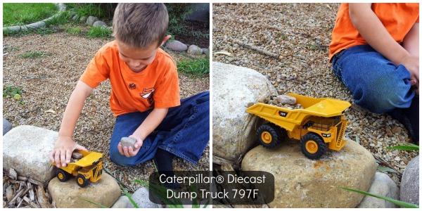 Caterpillar Diecast Dump Truck 797F
