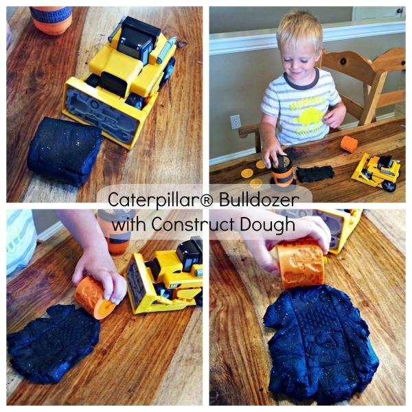 Caterpillar construct dough