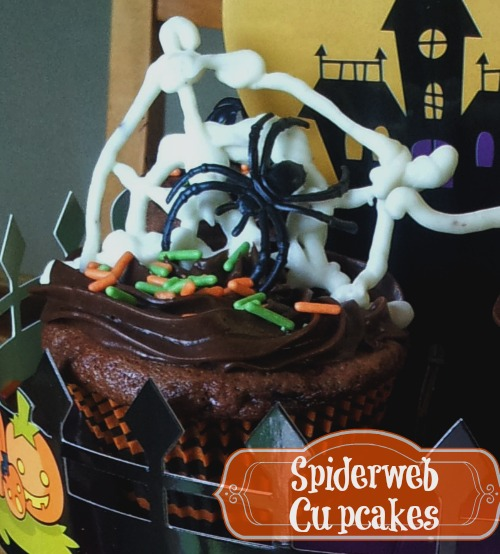 Spider Ring Cupcakes for Kids