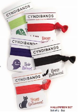 cyndi bands halloween hair ties