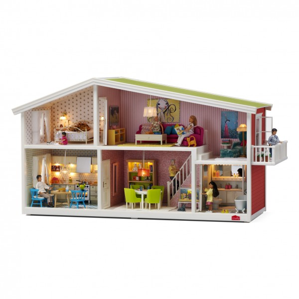 Modern Doll Houses With Lights By Lundby Smaland