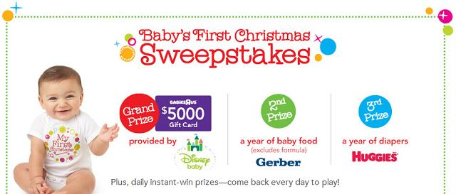 Baby's First Christmas + Babies R Us Gift Card Giveaway