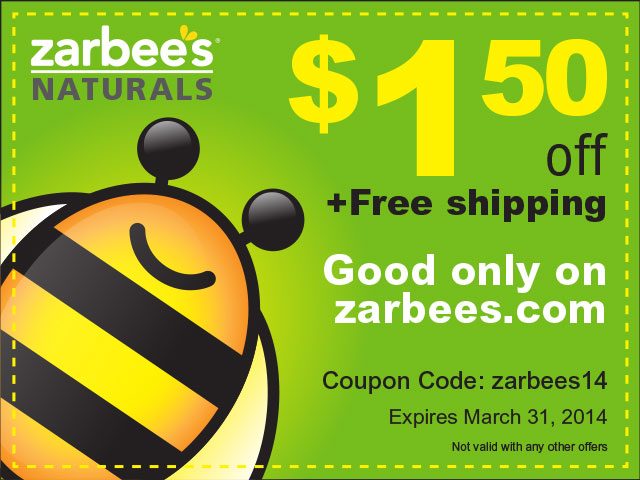 Zarbee'sNaturals Coupon